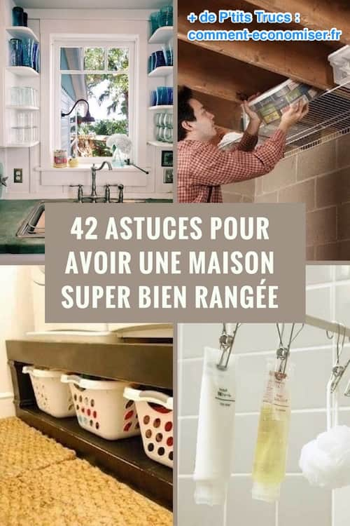 42 astuces pour avoir une maison super bien rang e ne ratez pas la n 39. Black Bedroom Furniture Sets. Home Design Ideas