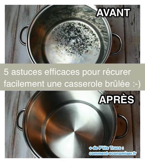 5 recettes efficaces pour nettoyer une casserole brûlée