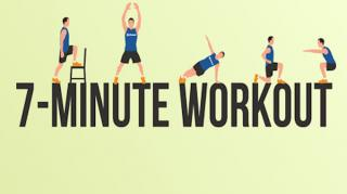 7 minutes workout entrainement