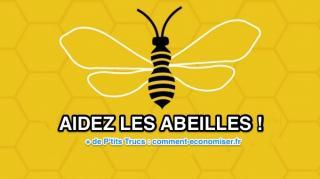 8 gestes simples pour aider abeilles