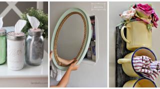 9 accessoires fait maison salle bain