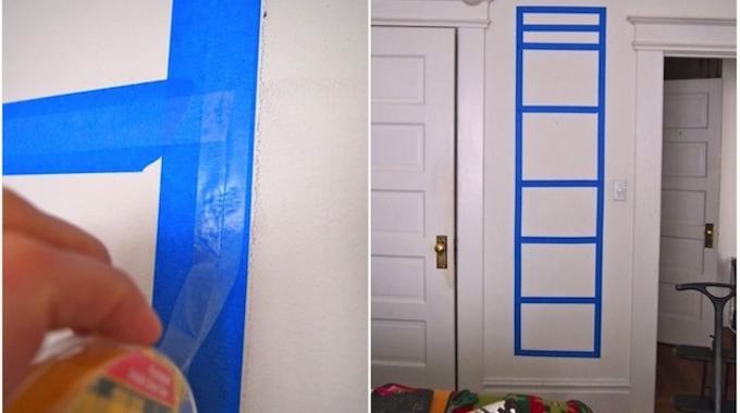 Accrocher photos au mur sans abimer
