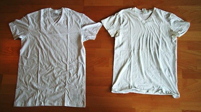 Une Astuce Surnaturelle Pour Agrandir Votre T-Shirt Rétréci.