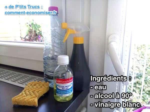 Mes 4 meilleures recettes de produits vitres garanties sans trace - Vinaigre blanc ou alcool ...