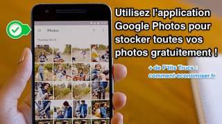 Application gratuite pour stocker photos et vidéos gratuite