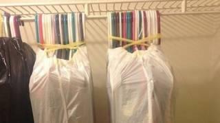 Astuce pour transporter vêtements facilement déménagement