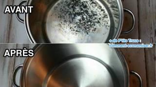 Astuces pour récurer une casserole brûlée