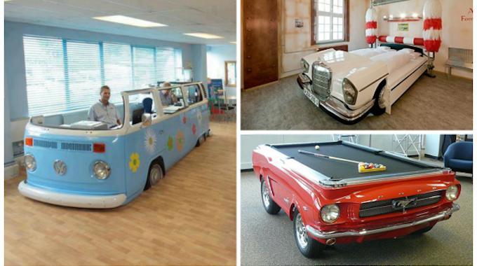 28 fa ons surprenantes de sauver une vieille voiture de la casse. Black Bedroom Furniture Sets. Home Design Ideas