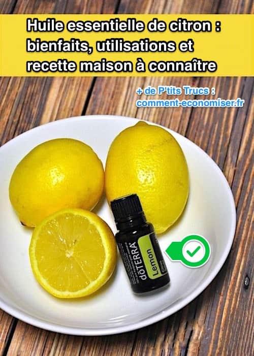 huile essentielle de citron bienfaits utilisations et recette maison conna tre. Black Bedroom Furniture Sets. Home Design Ideas