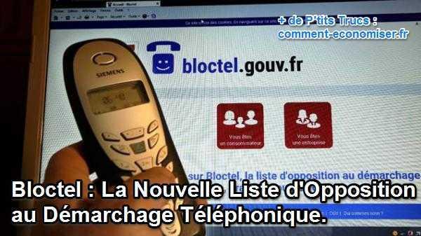 Pour ne plus recevoir d'appels de démarchage téléphonique, pensez à vous inscrire à Bloctel.