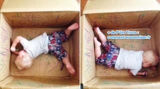 boite à colorier carton pour enfants