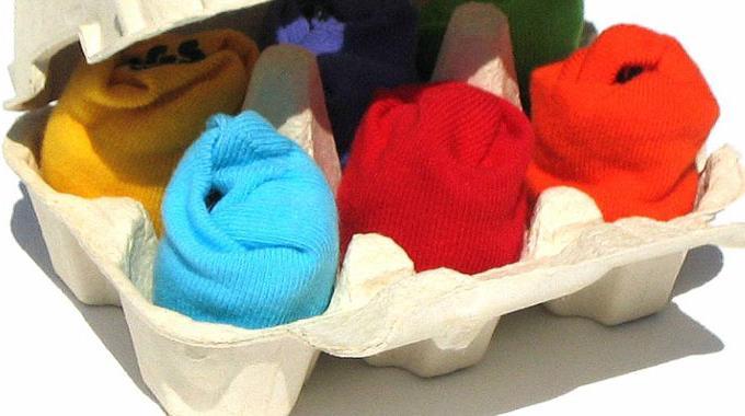 Un rangement pour chaussettes de b b original les - Rangement chaussettes tiroir ...