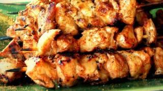 brochettes de poulet façon tandoori