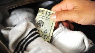 cacher son argent chez soi