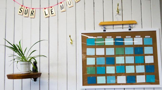 L 39 astuce de g nie pour faire un calendrier maison for Avoir internet a la maison