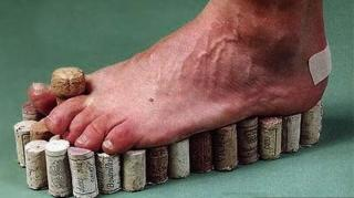 chaussons bouchons liège