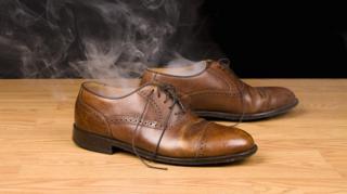 chaussures qui puent