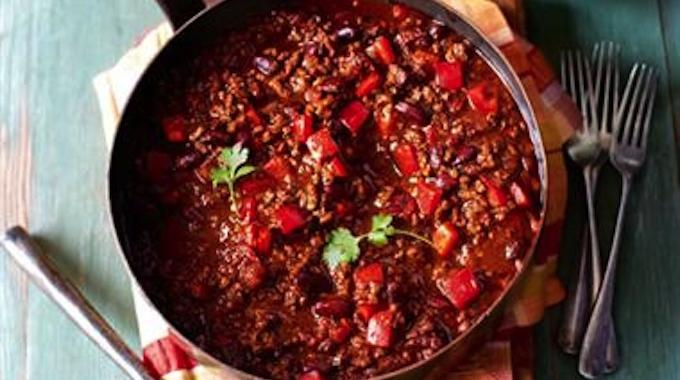 La recette conviviale et pas ch re du chili con carne - Chili con carne maison ...