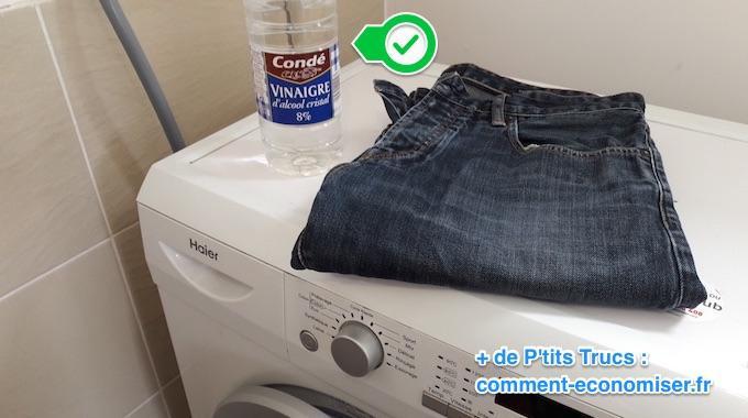 Comment assouplir un jeans neuf facilement utilisez du - Desherber avec vinaigre blanc ...