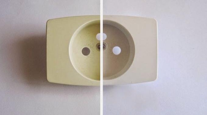 facile et rapide comment blanchir du plastique jauni avec du bicarbonate. Black Bedroom Furniture Sets. Home Design Ideas