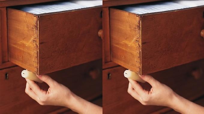 L'Astuce Pour Décoincer un Tiroir Difficile à Ouvrir.