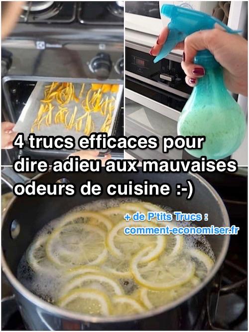 astuces naturelles pour enlever odeur cuisine - Comment Enlever Les Mauvaises Odeurs Dans La Maison