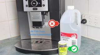 comment détartrer cafetière sans vinaigre blanc