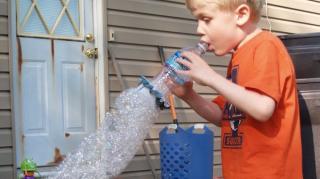 comment fabriquer bouteille bulles savon