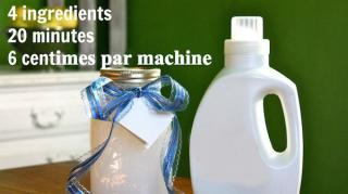 comment fabriquer lessive maison savon