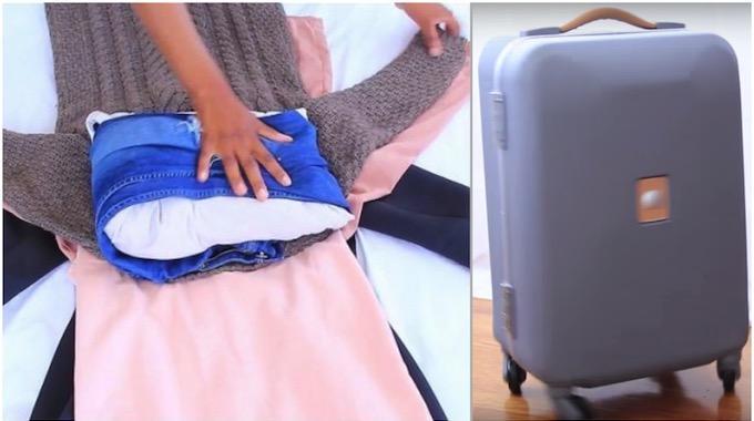 comment faire sa valise cabine comme un pro et gagner plein de place. Black Bedroom Furniture Sets. Home Design Ideas