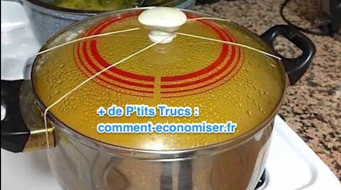 Comment garder le couvercle d 39 une casserole bien ferm quand on la transporte for Porte couvercle casserole