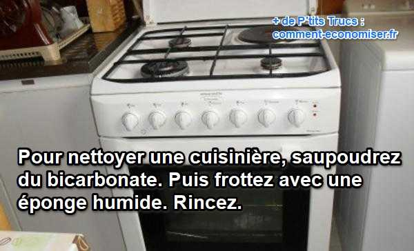 Comment nettoyer sa cuisini re avec du bicarbonate for Comment nettoyer la fonte