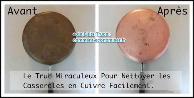 Le Truc Miraculeux Pour Nettoyer Les Casseroles En Cuivre Facilement