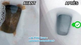 comment nettoyer fond cuvette wc