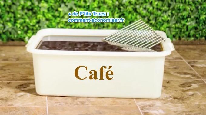 Utilisez du caf pour nettoyer une grille de bbq tr s sale - Comment nettoyer la grille du barbecue ...