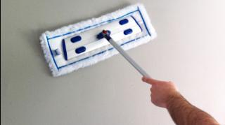 comment nettoyer murs sales facile