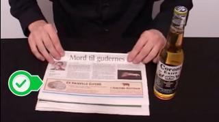 comment ouvrir bouteille sans décapsuleur