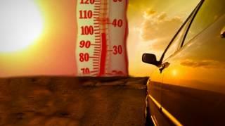 Comment rafraichir intérieur voiture très chaud