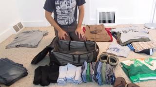 comment ranger affaires dans valise