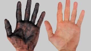 comment se nettoyer les mains pleine cambouis