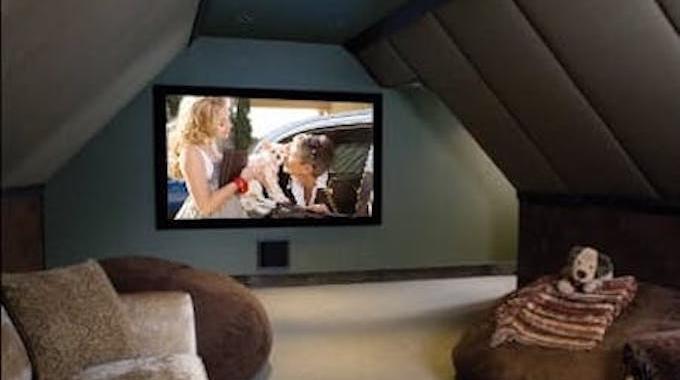 Comment Transformer Son Grenier en Home Cinéma.