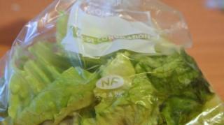 conserver-salade-sachet-ouvert