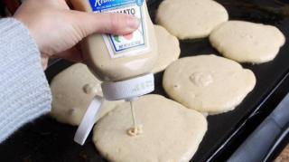cuir pancakes facilement