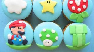 cupcake mario