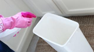 debarrasser mauvaise odeur poubelle vinaigre