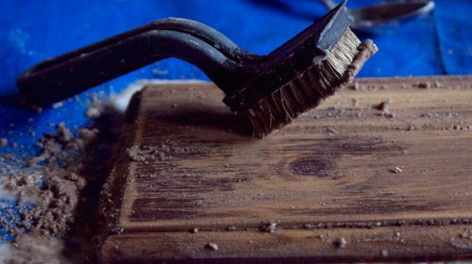 Un d capant naturel pour bois que personne ne connait le bicarbonate - Enlever de la peinture sur du bois ...