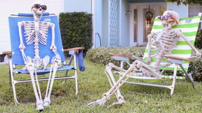 18 super d corations d 39 halloween tr s faciles faire - Decoration halloween facile a faire ...