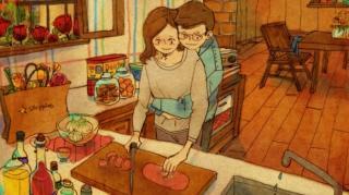 dessins relations de couple magnifiques