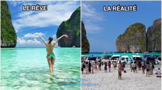 difference entre reves voyage et réalité
