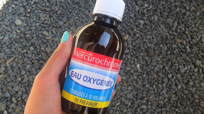 eau oxygénée nettoyage